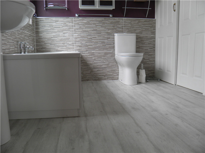 Waterproof Laminate Quick Step Impressive 8mm Concrete