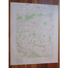 Churchville New York 1978 Original Vintage USGS Topo Map