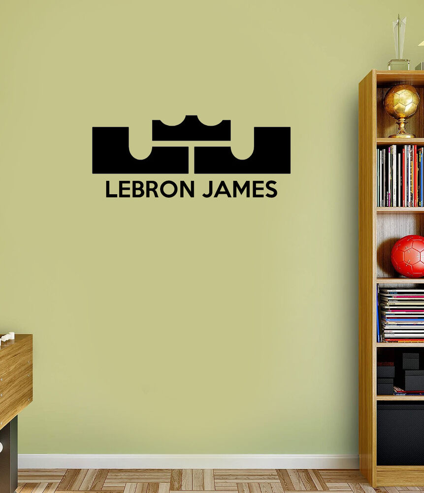 Lebron James Wall Quote Decals Vinyl Sticker For Room Home | eBay