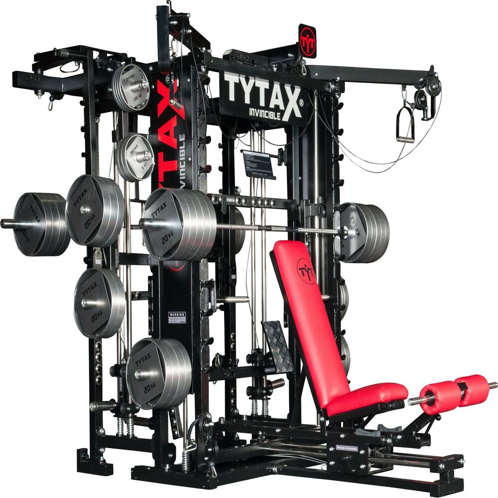 Top Exercise Equipment: TYTAX® T1-X ULTIMATE HOME MULTI GYM MACHINE EQUIPMENT
