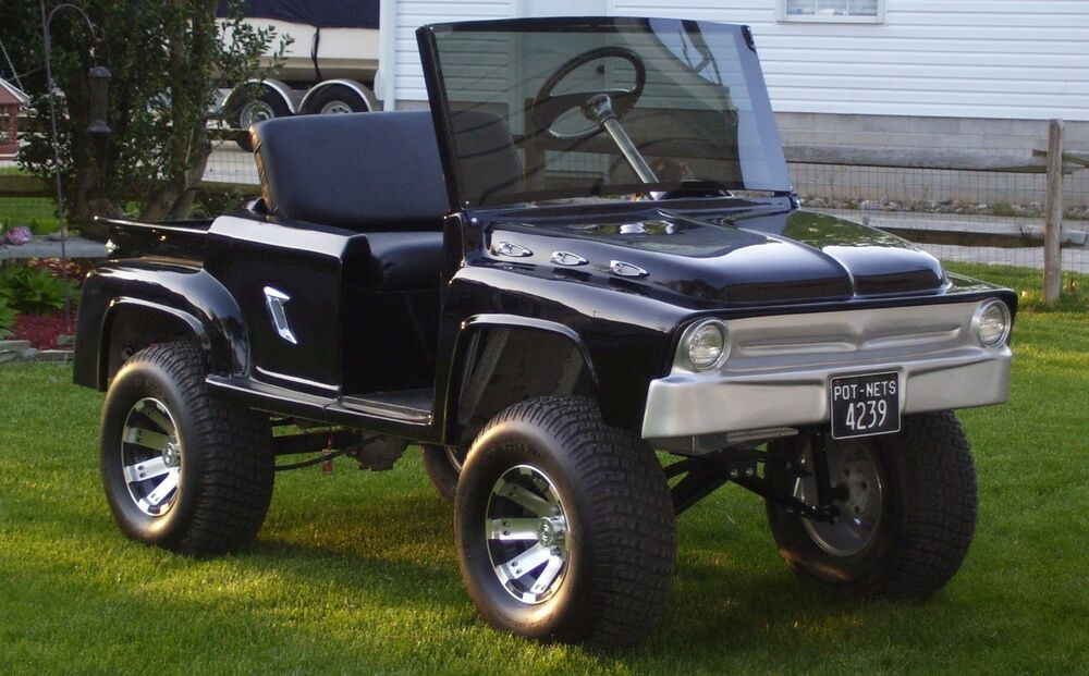 Custom Golf Cart Body Kit Front And Rear Open Roader