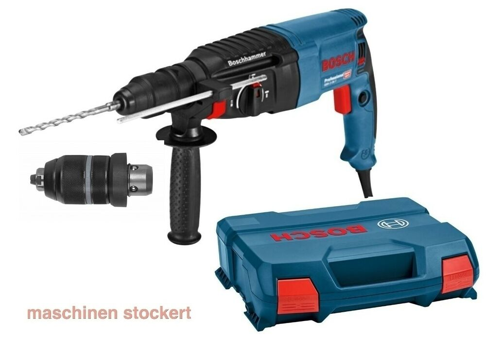 bosch gbh 2 26f professional bohrhammer 830 watt sds bohrhammer in l boxx ebay. Black Bedroom Furniture Sets. Home Design Ideas