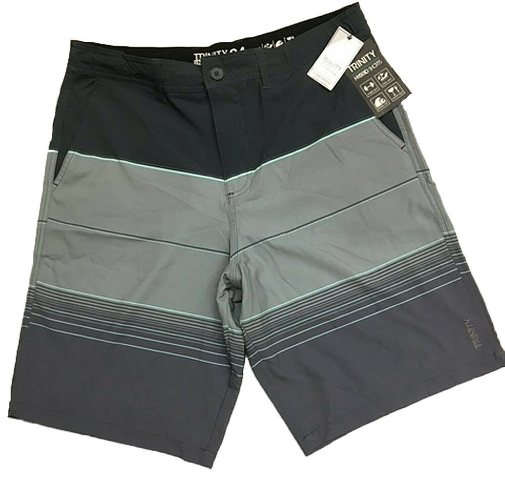 28b9f59c3e76a Details about Trinity Collective Mens Hybrid Shorts Various Colors