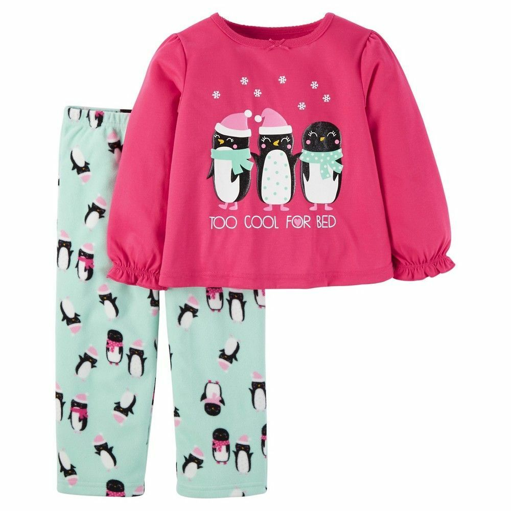 66d88aaf3b1d NWT CARTERS Just One You 2-pc Winter Christmas Pajamas TOO COOL FOR ...