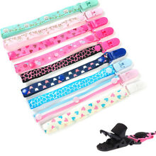 Baby Anti-lost Hot Clip Holder Dummy Pacifier Soother Nipple Strap Chain Pop nEW
