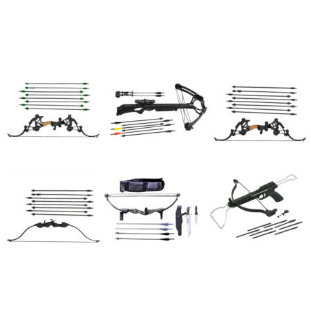 img-Miniature Bow & Arrows Set for 1/6 scale 12