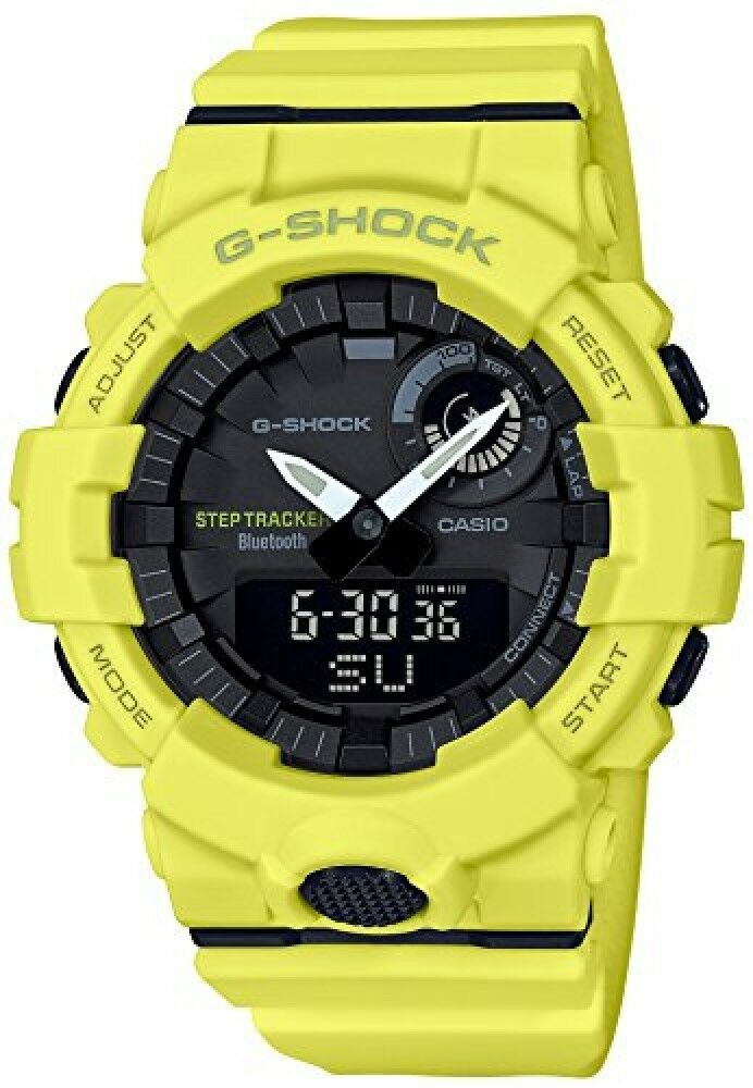 7f8702d39d3 Detalhes sobre 2018 NEW CASIO Watch G-SHOCK G-Squad GBA-800-9AJF Mens from  japan