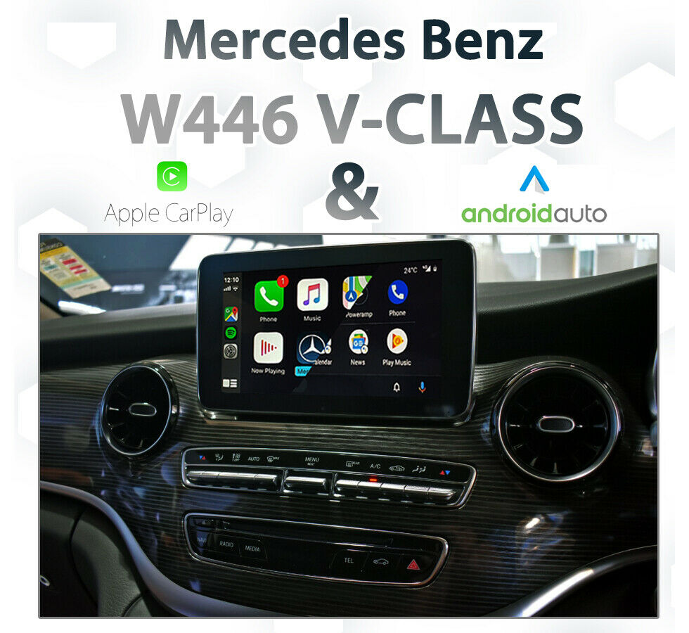 apple carplay integration kit for c class glc class v. Black Bedroom Furniture Sets. Home Design Ideas