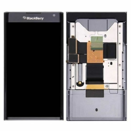 BlackBerry Priv LCD Amoled Display + Touch Screen Digitizer Frame Bazel Assembly