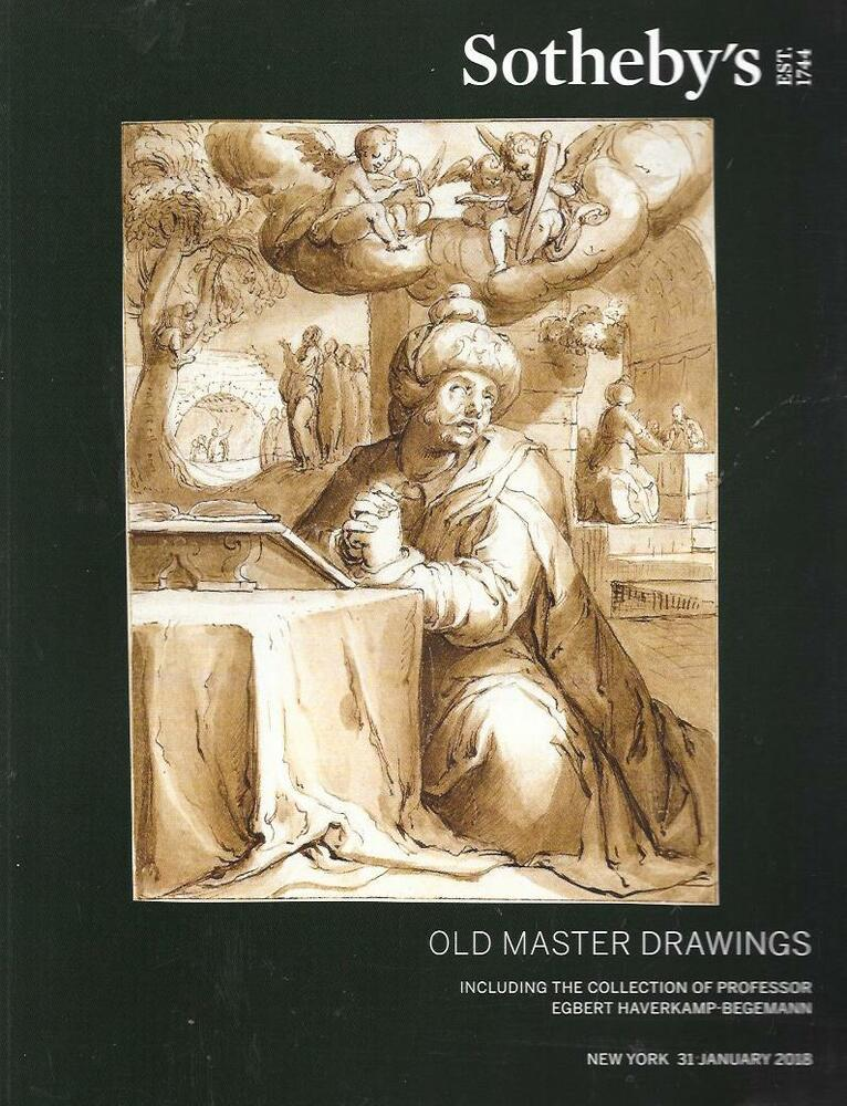 Sotheby S Old Master Drawings Sale Auction Catalog 2018 Ebay