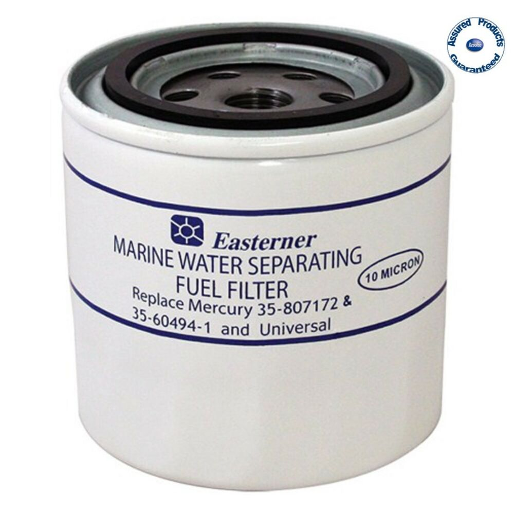 Easterner Water Separator Fuel Filter Merc 35 807172 60494 1 Place Universal Ebay