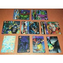 OVERPOWER Monumental Power Card lot 28 - all 1, 2, 3, 4, 5, and 6 cards