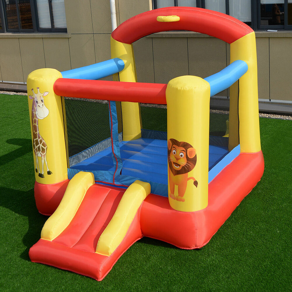 20b66bdad Kids Inflatable Blow Up Animal Jump Bounce House Bouncy Air Castle ...