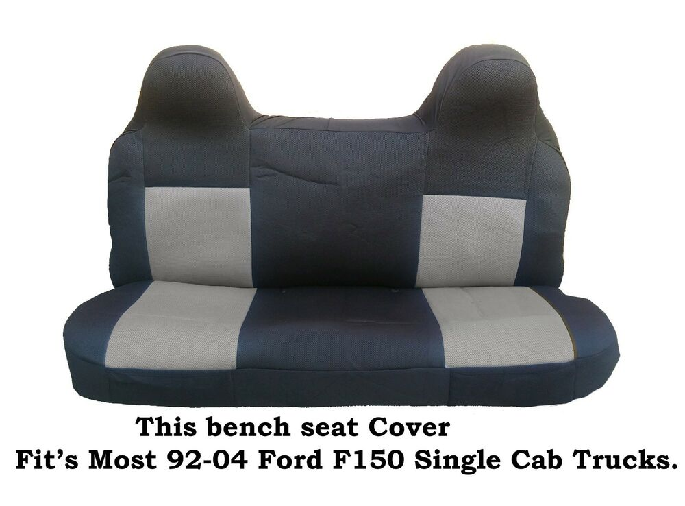 2001 Ford F150 Front Bench Seat Cover Velcromag
