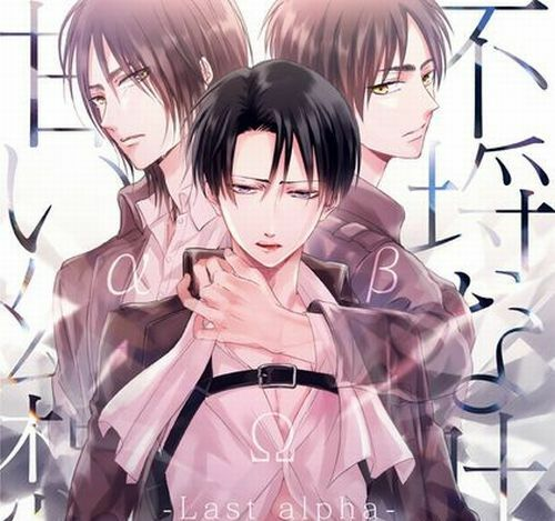 Attack On Titan YAOI Doujinshi ( Eren X Levi ) NEW