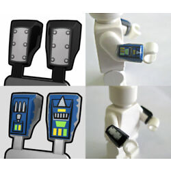 Kyпить Custom VAMBRACES Printed Arm Armor for Minifigs - Pick your Style- Star Wars на еВаy.соm