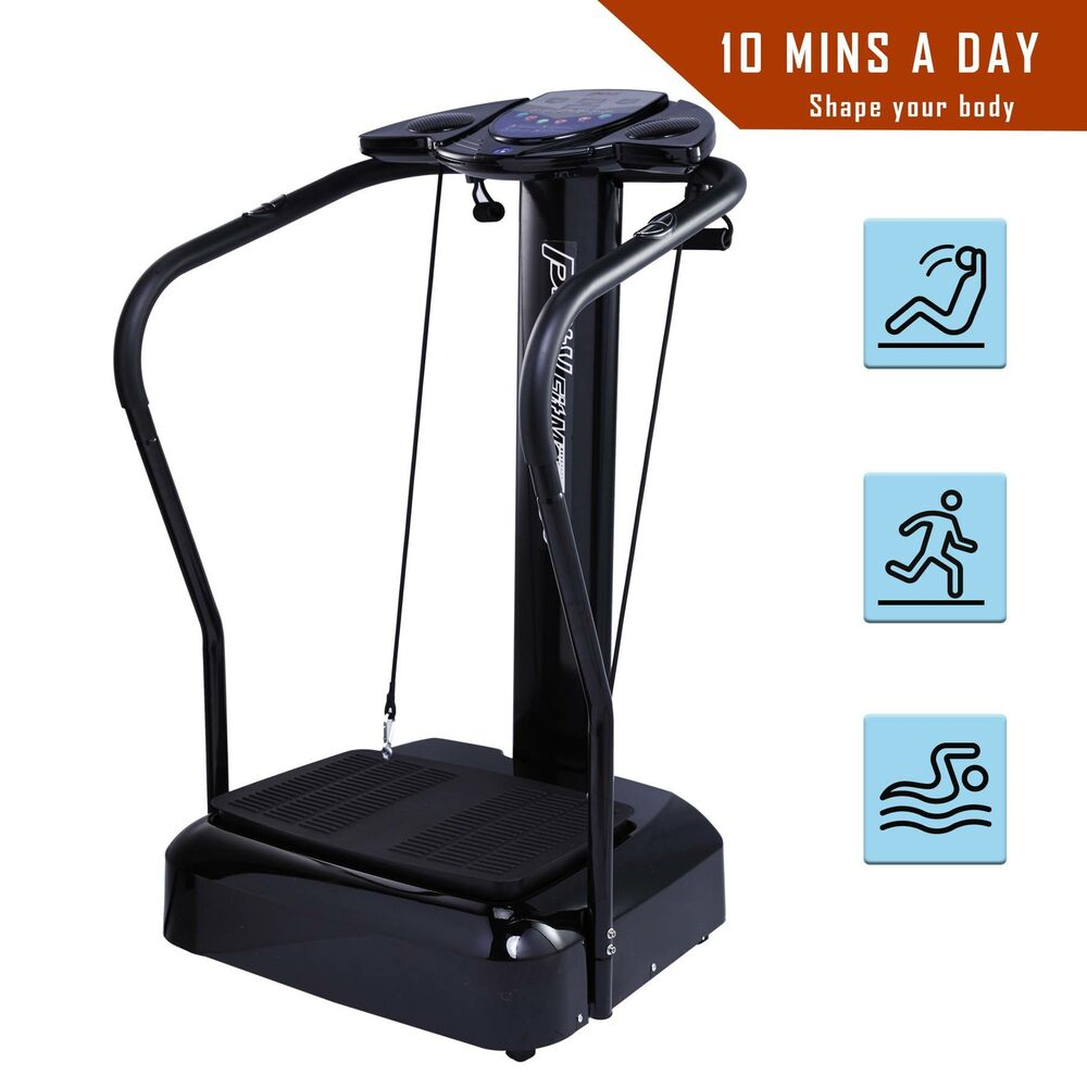 Upgrade 2000W Whole Body Vibration Machine Exercise ...