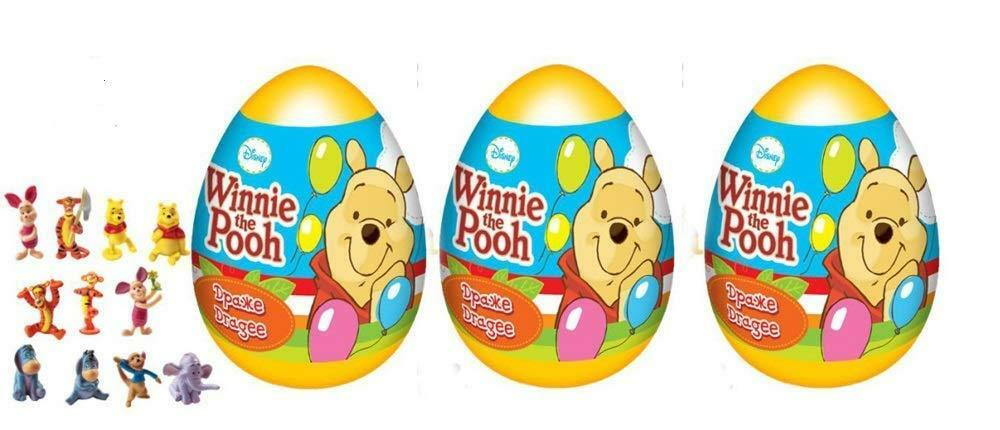 6cfb17b2a0a2 4psc Disney Winnie the Pooh Toys Kinder Surprise Eggs Shells easter  birthday