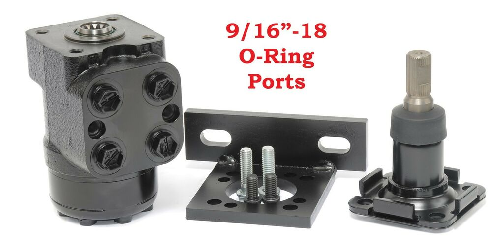 Details About Off Road Hydraulic Steering Valve Kit 9 67 Ci Non Load Reaction Rs91160b Rck
