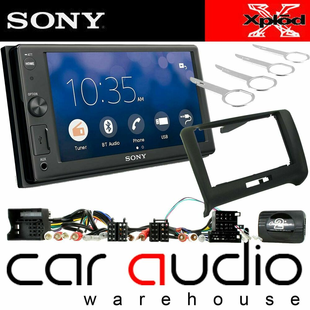 "SONY XAV-W651BT 6.2"" DVD CD MP3 USB AUX Bluetooth"