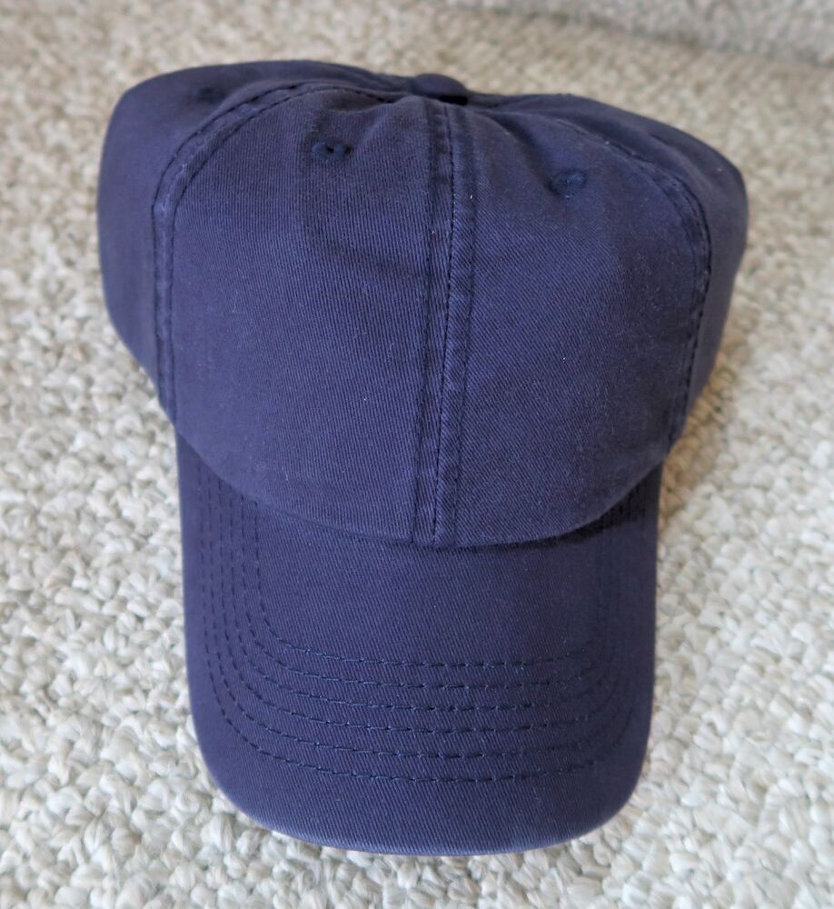 9e8bc93d9e976 Details about BLANK BALL CAPS HATS NAVY BLUE LOW PROFILE