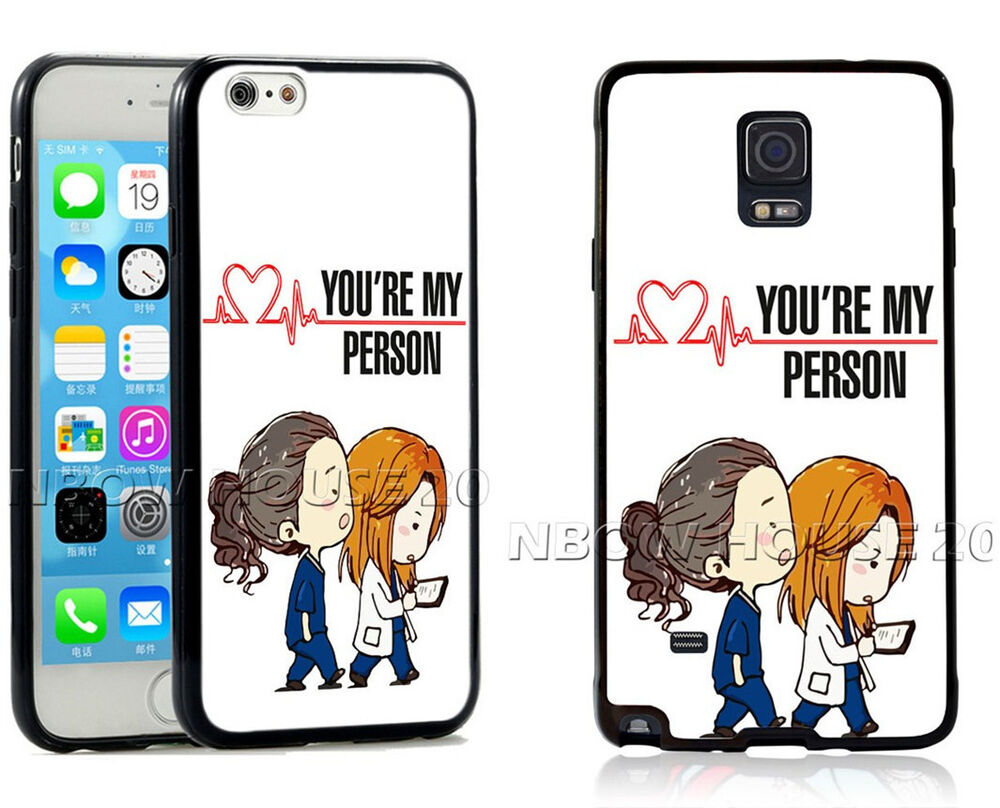 Grey\'s Anatomy Phone Case You\'re my person For iPhone iPod Samsung ...