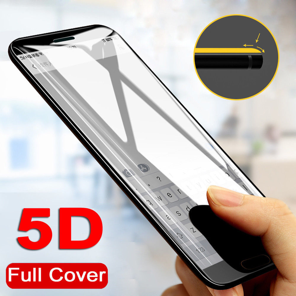 For Redmi Note 5 Pro Plus Xiaomi Screen Protector 5d Curve Full Tempered Glass Cover New 2018 Coverage Film