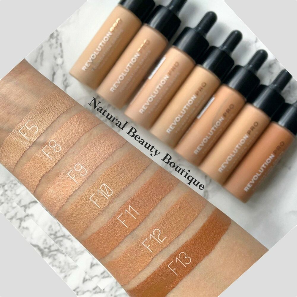 Makeup revolution concealer shades conceal and define