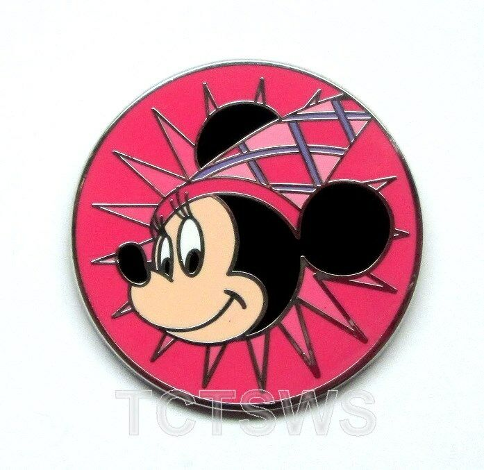 Pink Swirl Disney Pin: Disney Pin Minnie Starburst Princess Magical Mystery
