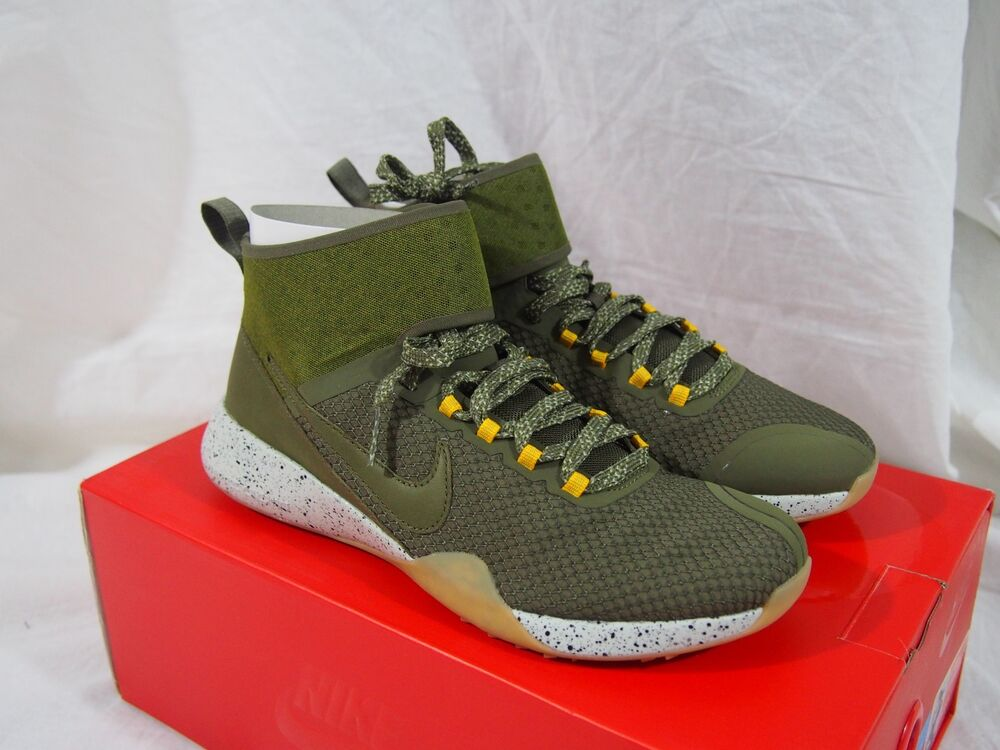 new styles 779ef 62861 Details about Nike NikeLab Air Zoom Strong 2 Crossfit Olive Women s size  6.5 US 922882-200