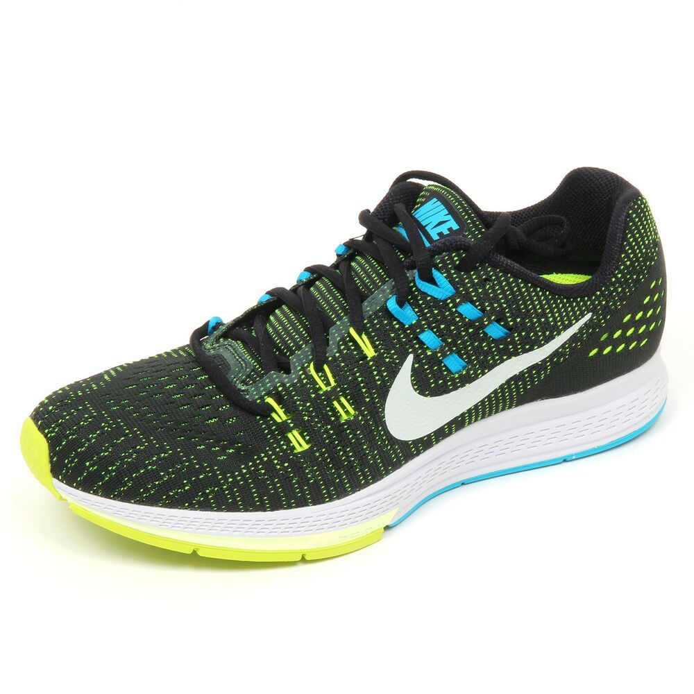 sports shoes c4b18 e1031 Details about D1884 sneaker uomo NIKE AIR ZOOM STRUCTURE 19 nero shoe man
