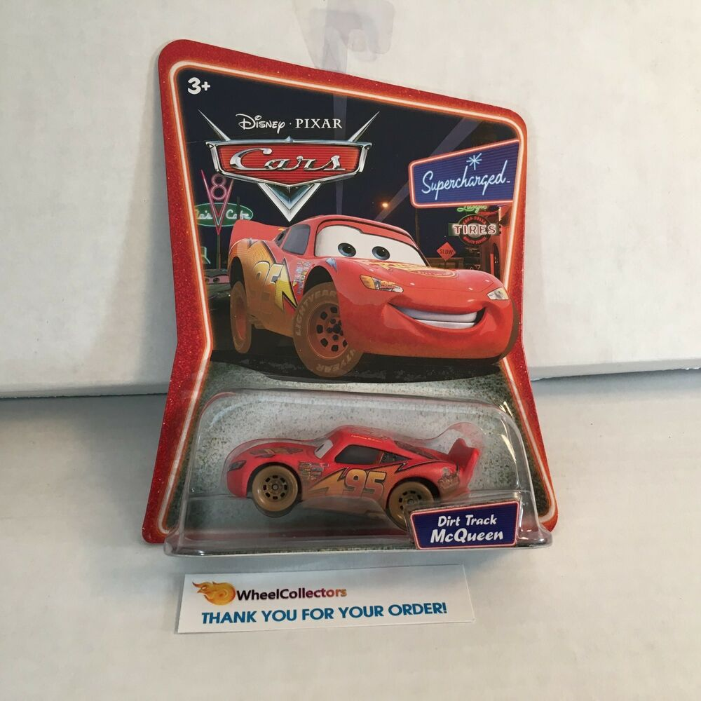 Dirt Track McQueen * Disney Pixar Cars Supercharged * ZB4