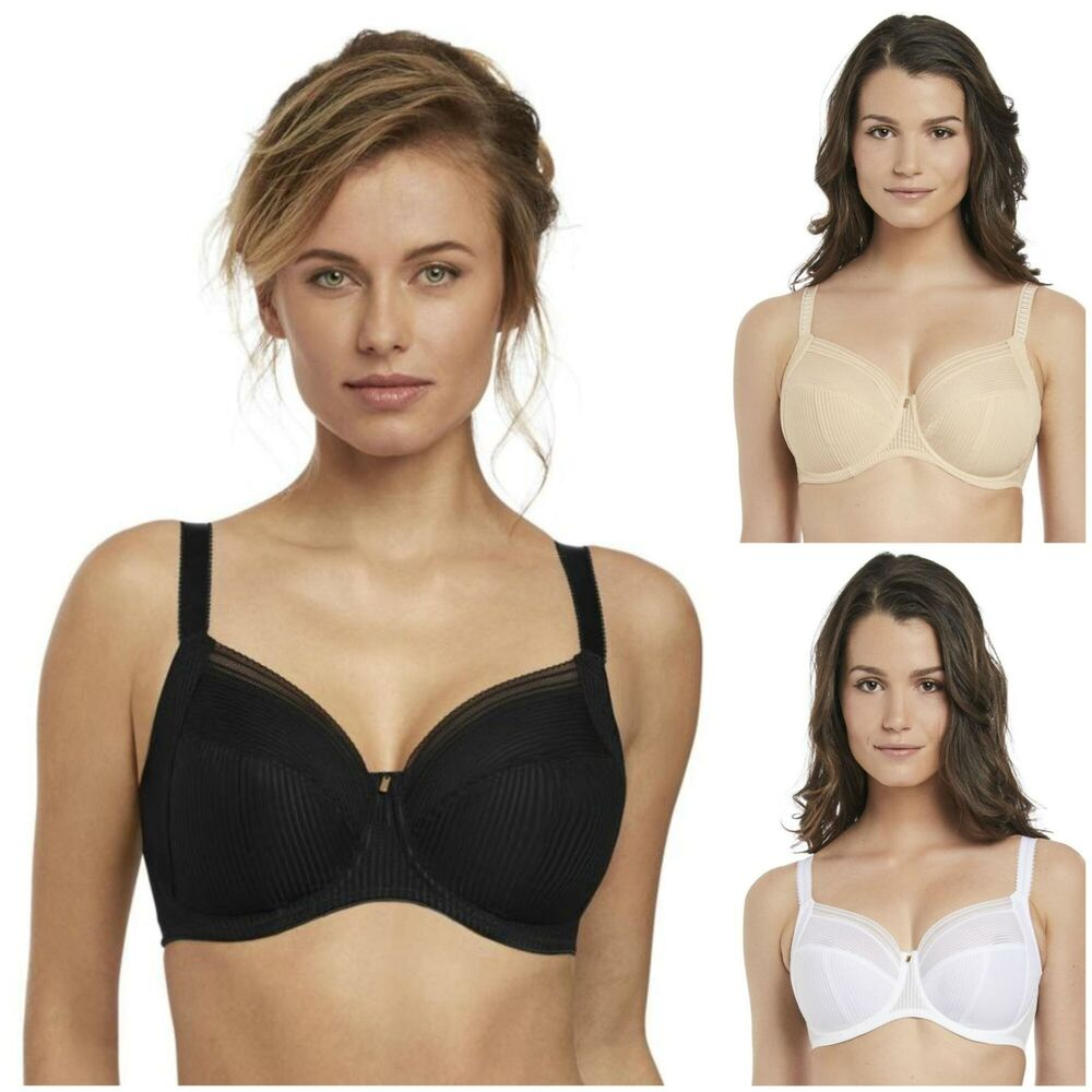 dbb05a1179 Details about Fantasie Fusion Side Support Bra 3091 Non-Padded Underwired  Bra