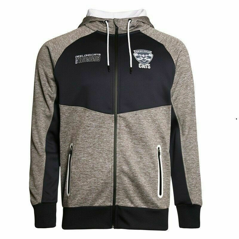 1e5fdc47e64 Details about Geelong Cats AFL 2018 AFL Mens Premium Hoodie Hoody Jacket  Sizes S-5XL!
