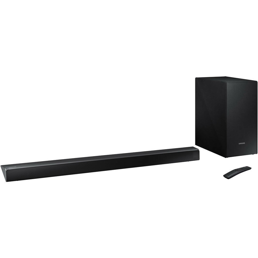 cc2657bb72b Details about Samsung 2.1-Channel Soundbar System w  Wireless Subwoofer    Amplifier in Black