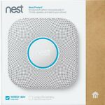 Nest Protect 2nd Generation Smart Smoke/Carbon Monoxide Wired Alarm - White
