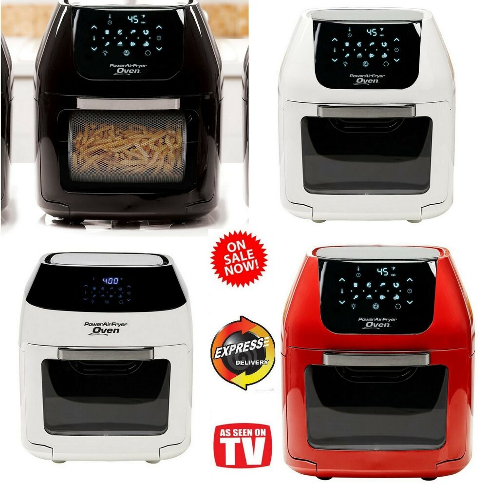 Power Air Fryer Oven Plus Xl As Seen On Tv 6 8 Qt Family