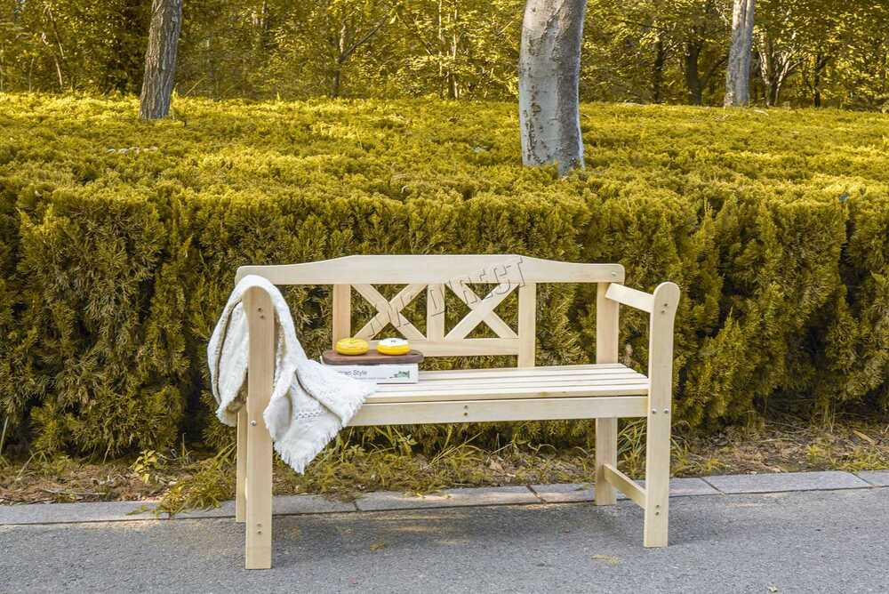 Westwood Outdoor Home 2 Seat Seater Wooden Garden Bench