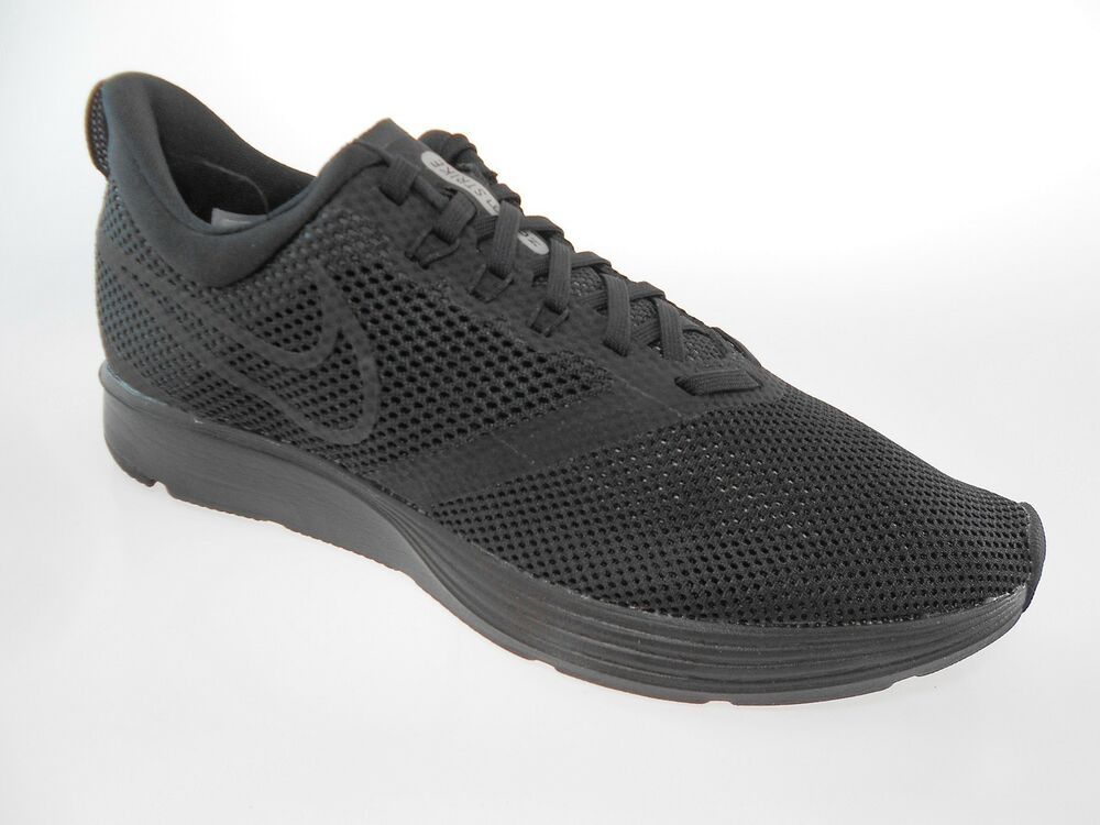 34a1ea17eaa Details about NIKE ZOOM STRIKE MEN S BLACK RUNNING SHOES