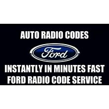 INSTANT FORD TRANSIT CONNECT RADIO CODE SERVICE