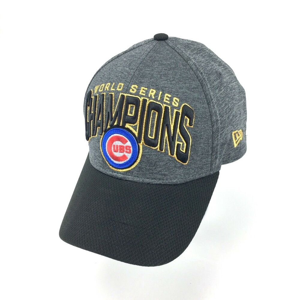 Details about Chicago Cubs Grey New Era 2016 World Series Champions MLB Hat  Cap 537b2942825