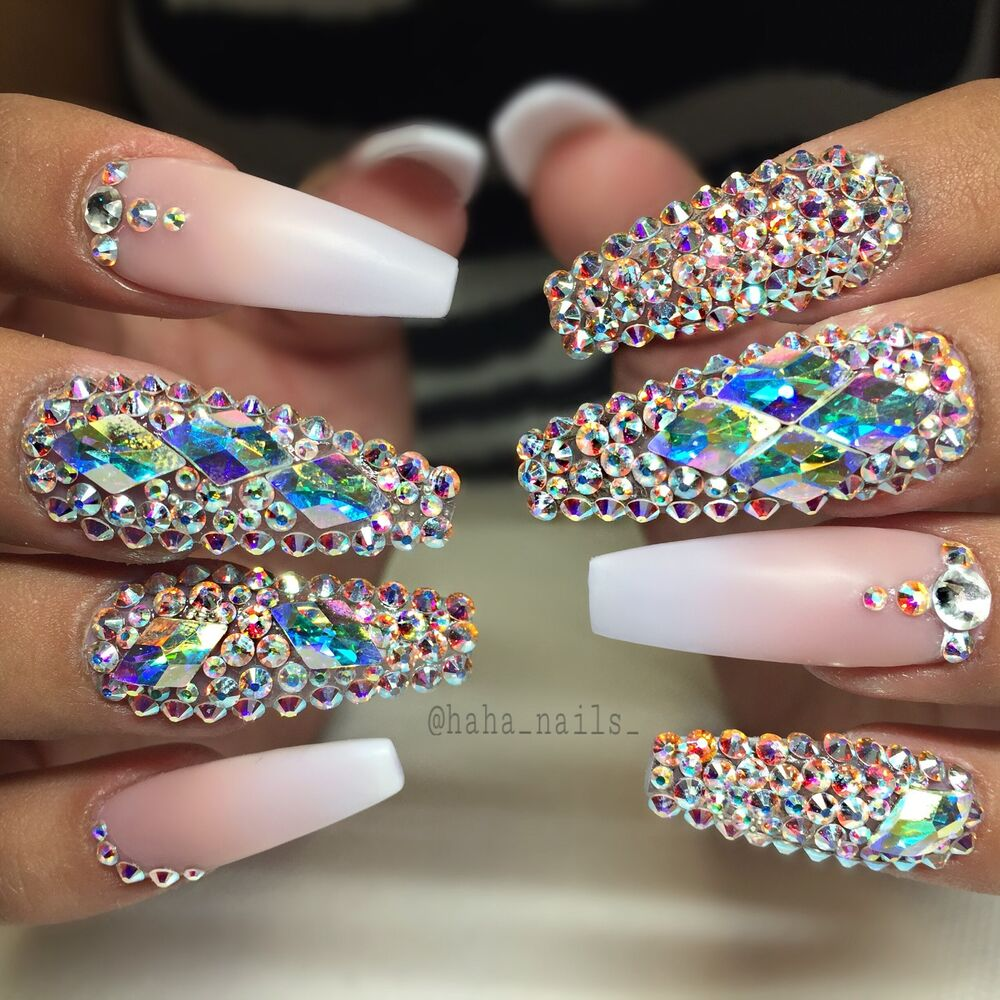 4b924b4555de Details about GORGEOUS Swarovski Rhinestones for Nail Art - Crystal AB -  Mixed Sizes Available