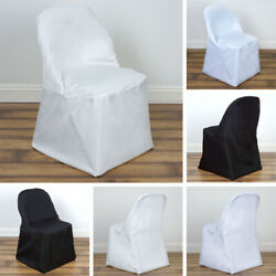 Kyпить 50 POLYESTER FOLDING CHAIR COVERS Wedding Party Banquet Reception Decorations на еВаy.соm
