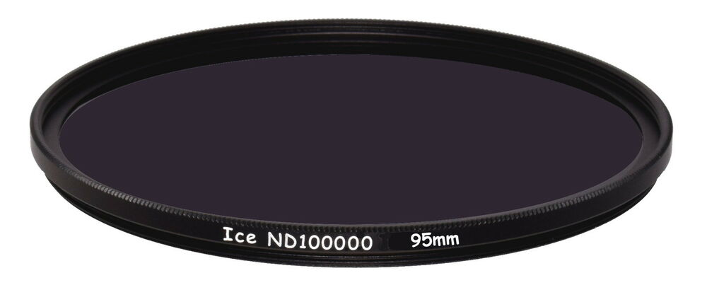 ice 95mm solar eclipse nd100000 filter nd 16.5 stop optical glass ...