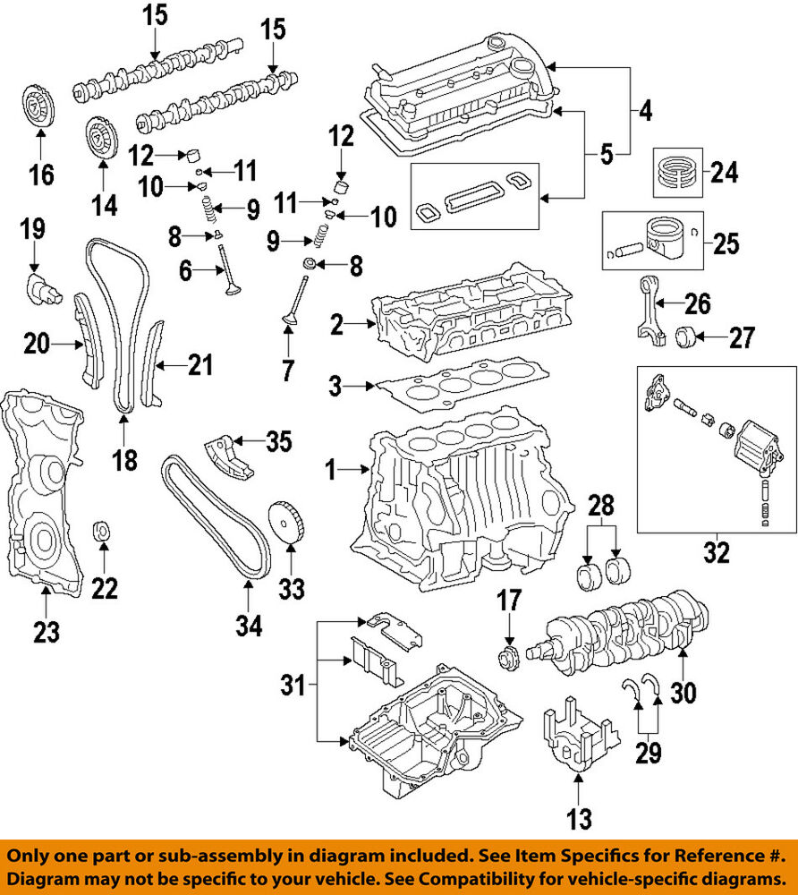 details about ford oem 14-18 transit connect-engine timing cover cv6z6019b