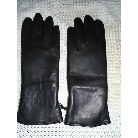 img-BLACK LEATHER COMBAT MK11 LEATHER GLOVES VARIOUS SIZES BRITISH ARMY NEW