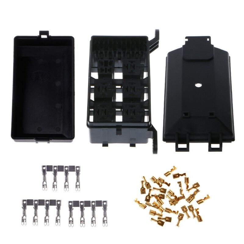 6 relay holder 5 road auto fuse socket box for nacelle ... fuse box home insurance