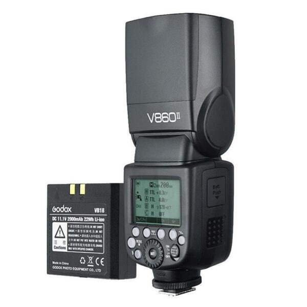 Godox Speedlite Ving V860II Sony Kit batteria al litio