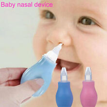 Infant Nasal Aspirator Vacuum Sucker Silicone Baby Nose Mucus Snot Cleaner