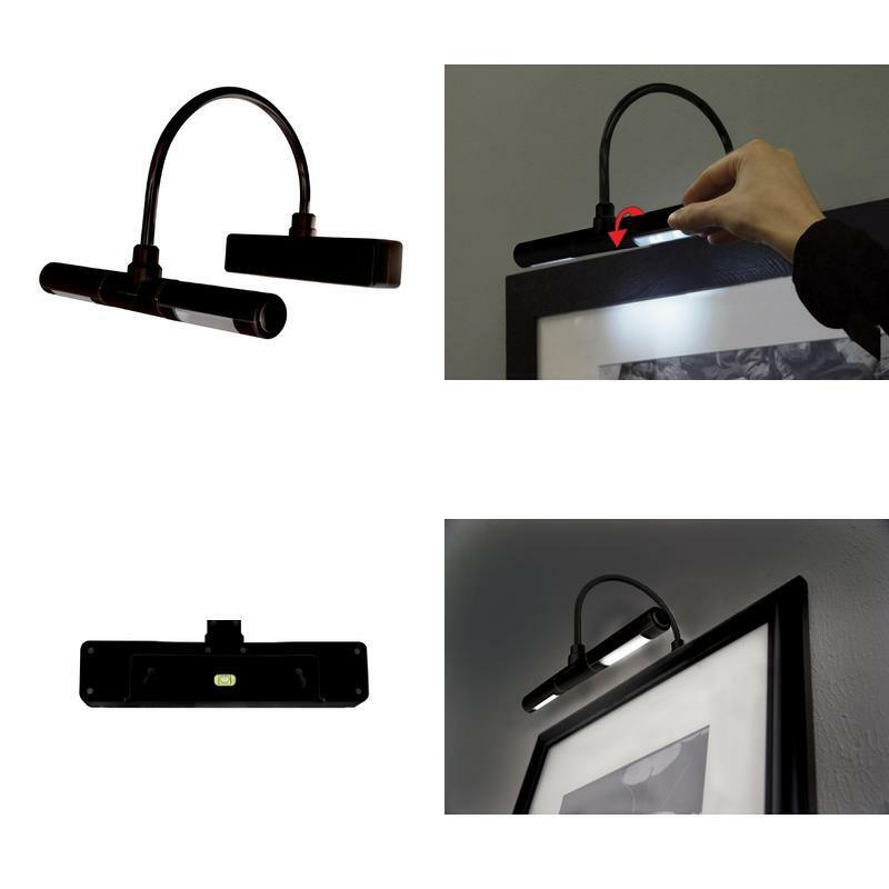LED Picture Frame Light Cordless Battery Operated Artwork